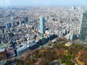 我把东京变小了