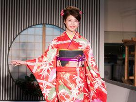 京都的和服表演