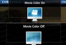 自动电影色彩模式