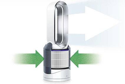 评测有态度第77期:戴森空气净化暖风扇HP01