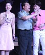 李双江梦鸽夫妇及儿子