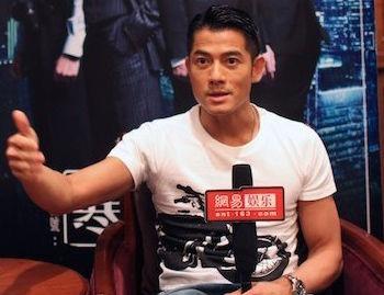 郭富城接受网易娱乐专访
