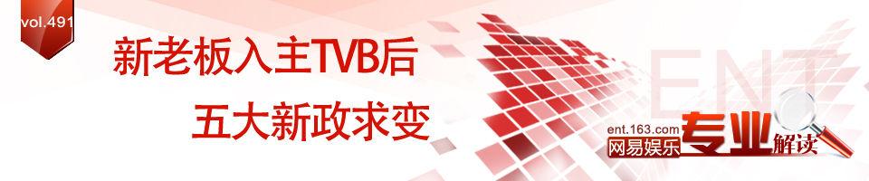 陈国强入主 TVB五大新政求变