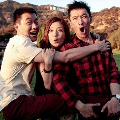 赵薇、黄晓明、佟大为三人大闹好莱坞