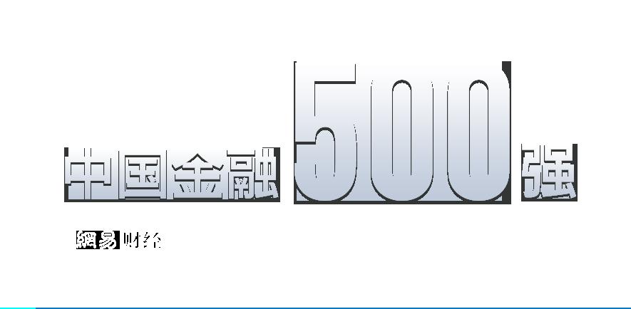 中国金融500强