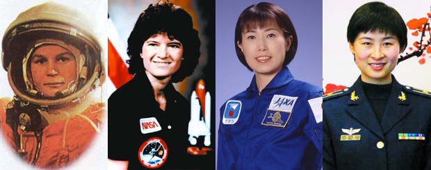 各国女航天员