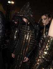 2011秋冬巴黎时装周后台花絮