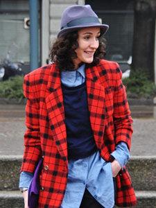2011秋冬巴黎时装周街拍