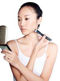 化妆刷刷粉底