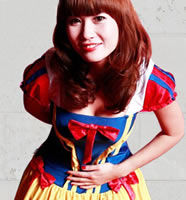 真人cosplay白雪公主