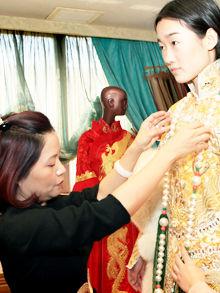 郭培中国新娘
