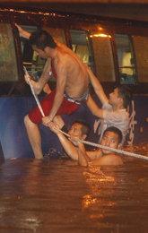 钓鱼岛 反日游行 北京暴雨4
