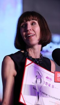 2012女性传媒大奖年度女性榜样Kim Lee