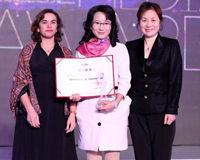 2012女性传媒大奖年度女性榜样伊能静