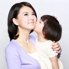 李湘与女儿王诗龄