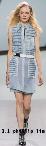 燕尾裙:1
