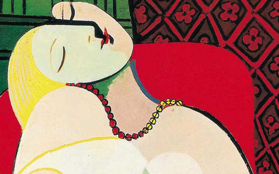 毕加索的画风全靠情人们决定