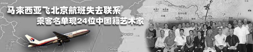 马航失联航班上24位中国籍画家