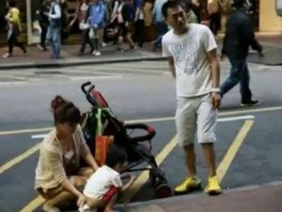 孩子当街小便引致大陆父母与港人冲突