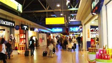 伦敦机场免税店