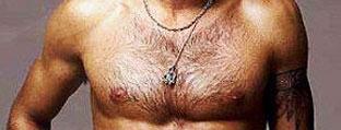 胸毛护理步骤一软化
