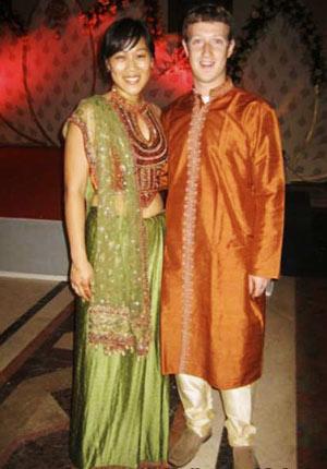 人人都爱华裔女友 扎克也和她结婚了