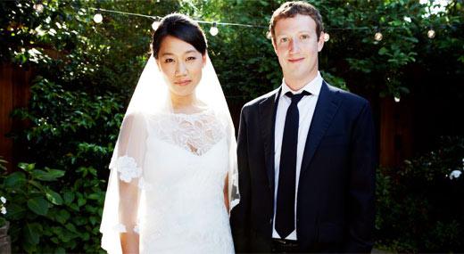 马克扎克伯格结婚