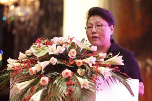 """谭雅玲参加""""中国房地产的商业模式创新及资本新风向""""论坛"""