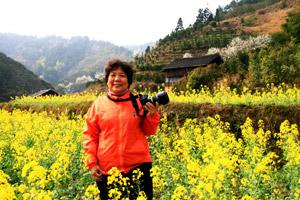 冯妈妈从旅游达人向摄影达人升级