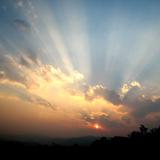 云南的夕阳