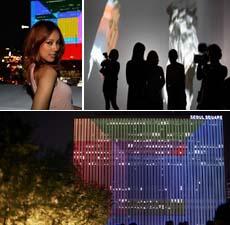 ck首尔Infinite Loop展:当代数码影像艺术
