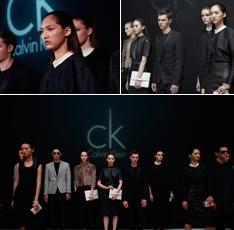 ck首尔Infinite Loop展:真人模特展示CK最新系列