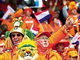 荷兰带动当地球迷