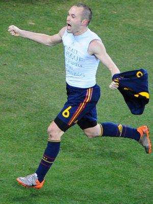 伊涅斯塔绝杀!西班牙1-0荷兰首夺世界杯