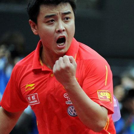 王皓給柳承敏打8分 對方教練被罰出場是轉折點