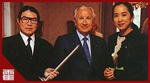 霍震霆,体坛外交部长