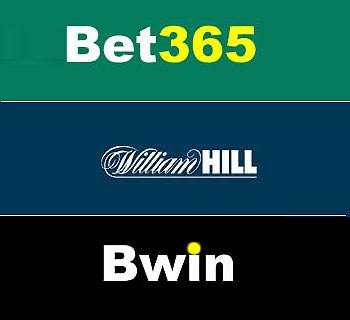 英国的bet365,奥地利的bwin以及英国的威廉希尔公司,是欧洲最大的三家