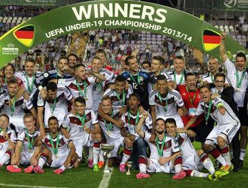 德国U19夺2014欧青赛冠军,成年队得世界杯