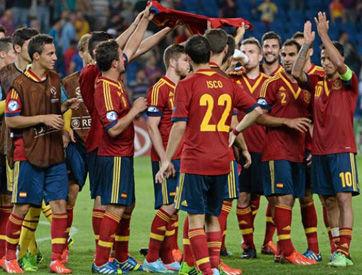 西班牙U21夺得2013欧青赛冠军