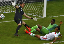 最沉闷比赛 伊朗0-0尼日利亚