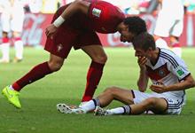穆勒戴帽 德国4-0葡萄牙