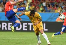 桑切斯破门 智利3-1澳大利亚