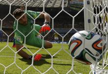 第016球:哥伦比亚闪电进球领先