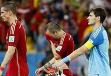 卫冕冠军出局 西班牙0-2负智利