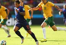 罗本单骑闯关范佩西破门 荷兰3-2澳大利亚
