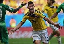 哥伦比亚 2-1 科特迪瓦