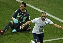 本泽马1射2传 法国5-2瑞士