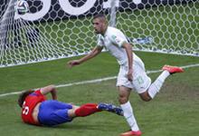 韩国 2-4 阿尔及利亚