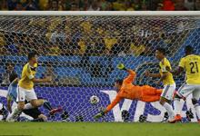 哥伦比亚 2-0 乌拉圭进8强