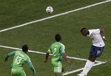 法国2-0尼日利亚
